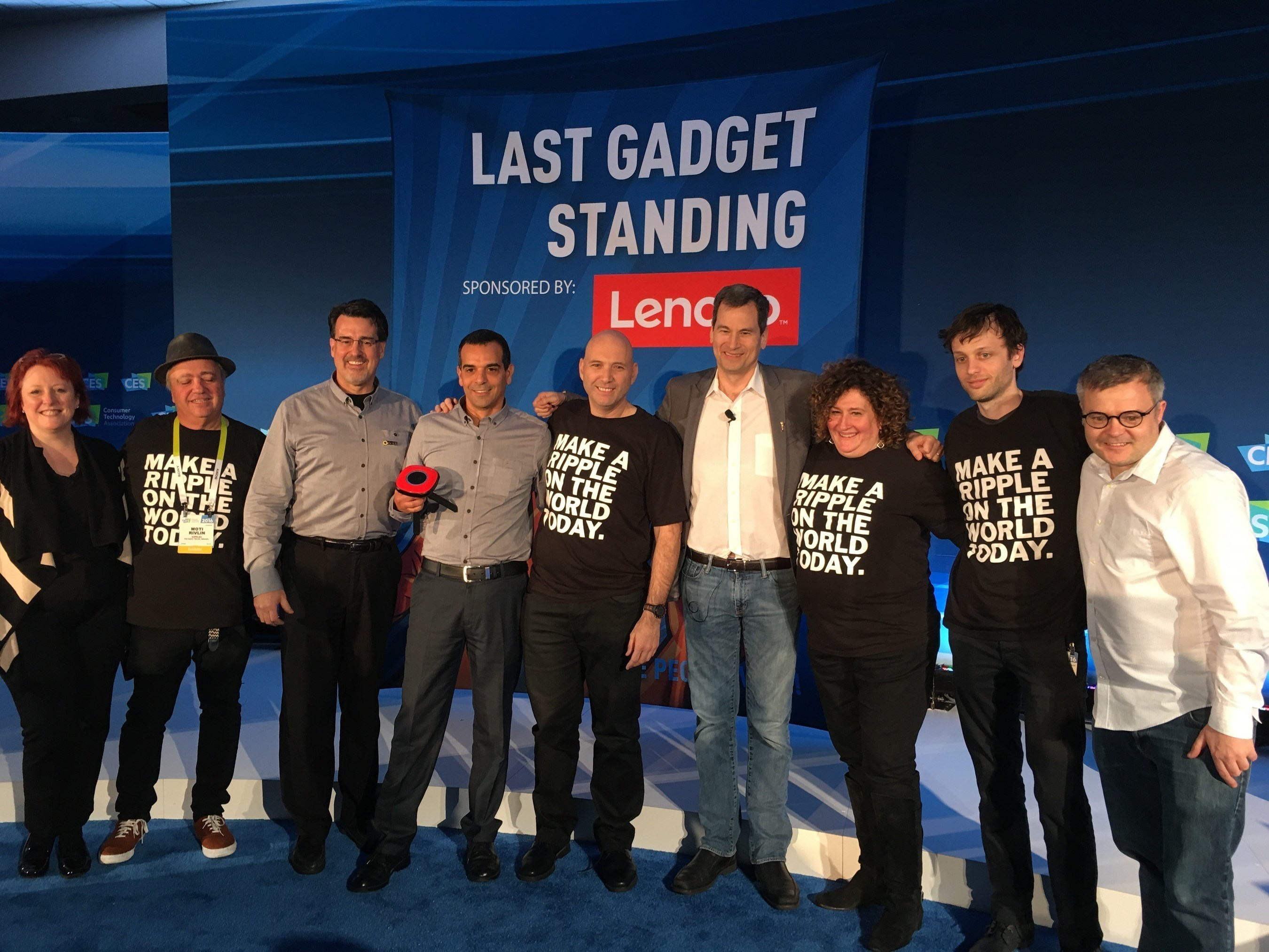 Living in Digital Times' Last Gadget Standing & Mobile Apps Showdown Contestants Show their Mettle at CES' 2016