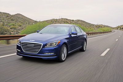 "2015 HYUNDAI GENESIS NAMED ""CAR OF TEXAS"" (PRNewsFoto/Hyundai Motor America)"
