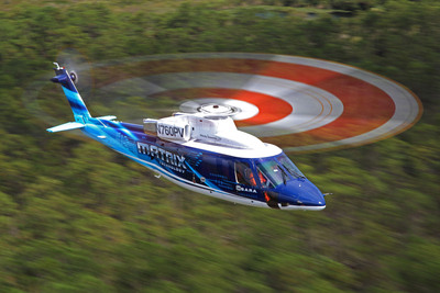Sikorsky's Matrix(TM) Technology program has set rigorous key performance parameters this year including demonstrating safe flight in obstacle-rich environments, shipboard and brownout condition landings.  (PRNewsFoto/Sikorsky Aircraft)