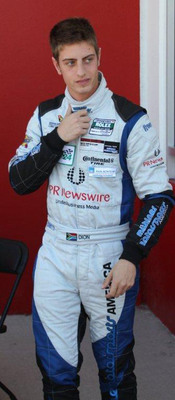 Dion von Moltke at the recent Rolex Daytona 24 Hour race
