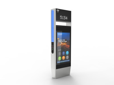 CIVIQ Smartscapes WayPoint: The next generation in transit customer engagement
