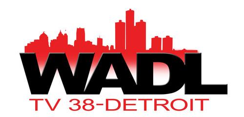 WADL TV-38 DETROIT Logo. (PRNewsFoto/WADL-TV38)