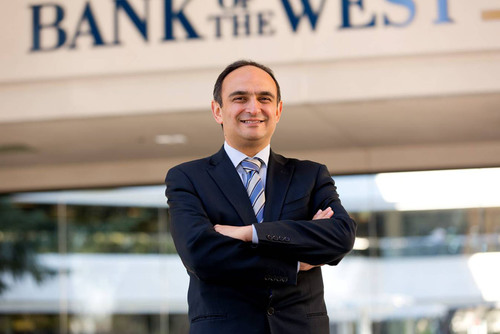 Hamed Farhadi has joined Bank of the West as Senior Vice President, Head of Global Trade Solutions.  (PRNewsFoto/Bank of the West)