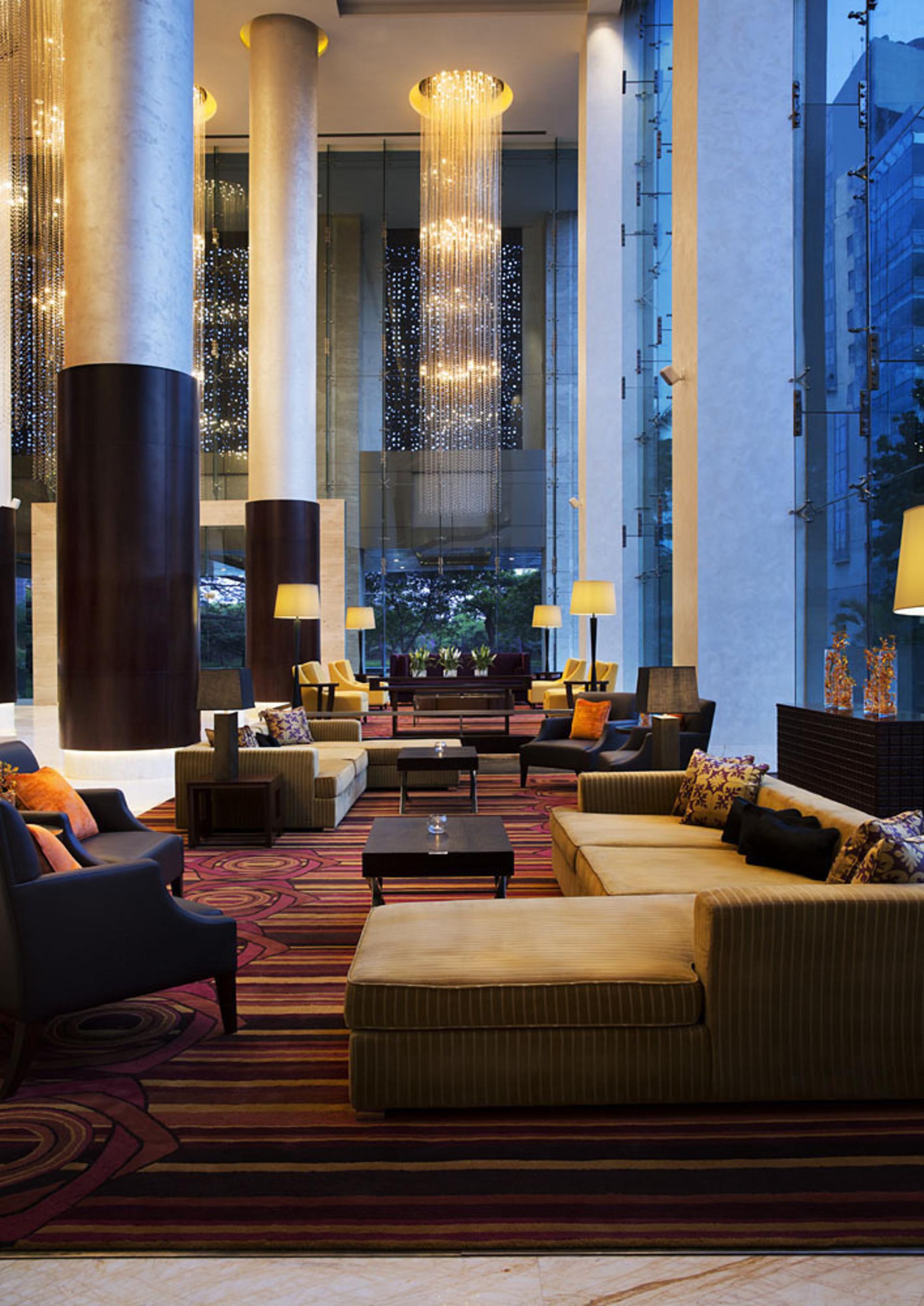 JW Marriott Brand Debuts Two New India Properties Weeks Apart; Global Luxury Hospitality Brand Welcomes Bengaluru (pictured) and New Delhi Hotels to Growing India Portfolio.  (PRNewsFoto/Marriott International, Inc.)