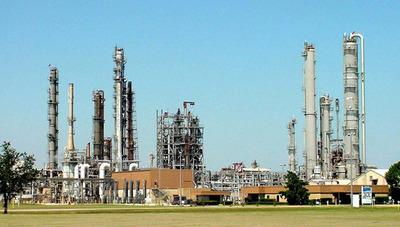 Linde facility at La Porte.  (PRNewsFoto/Linde North America)