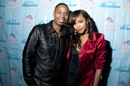 Hip-hop legend Doug E. Fresh and Luster's(R) Pink(R) Brand Smooth Touch(R) spokeswoman LeToya Luckett gave ...