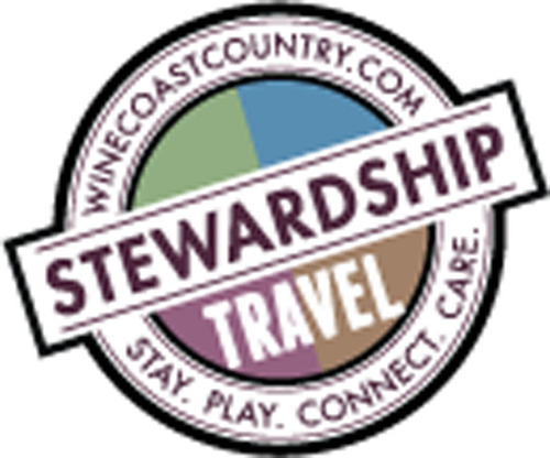 WineCoastCountry Stewardship Travel logo. (PRNewsFoto/WineCoastCountry) (PRNewsFoto/WINECOASTCOUNTRY)