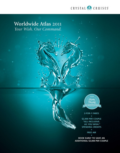 New Destinations, Innovations & Personal Value Highlighted in Crystal's 2011 Worldwide Atlas