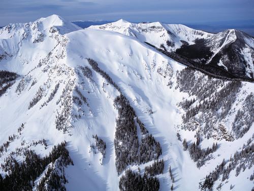 The iconic Kachina Peak at New Mexico's Taos Ski Valley. (PRNewsFoto/Taos Ski Valley) (PRNewsFoto/TAOS SKI VALLEY)