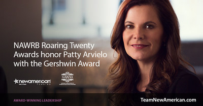 NAWRB Roaring Twenty Awards honor Patty Arvielo with the Gershwin Award.