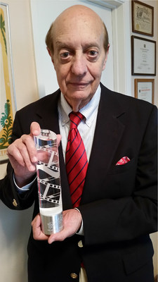 Basil Hoffman wins Best Actor Award for his role in The Pineville Heist