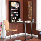 What could be more perfect than a craft desk that uses zero floor space? The creative, wall mount craft desk is the perfect solution for the crafter who always needs more workspace, but simply doesn't have the room to accommodate it. Patent D632115.  (PRNewsFoto/Southern Enterprises, Inc.)