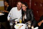 Chef John Keller and RocNation Songstress Bridget Kelly at Dinner on Ludlow.  (PRNewsFoto/Dinner on Ludlow)
