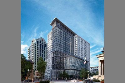 The Main is a $126-million, mixed-use, entertainment, meeting, dining, hotel and conference center destination located in the heart of Downtown Norfolk at the corner of Main and Granby Streets. (PRNewsFoto/PHR Hotels and Resorts)