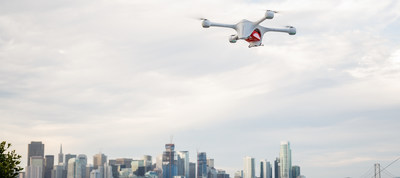 Matternet's second-generation drone, Matternet M2.