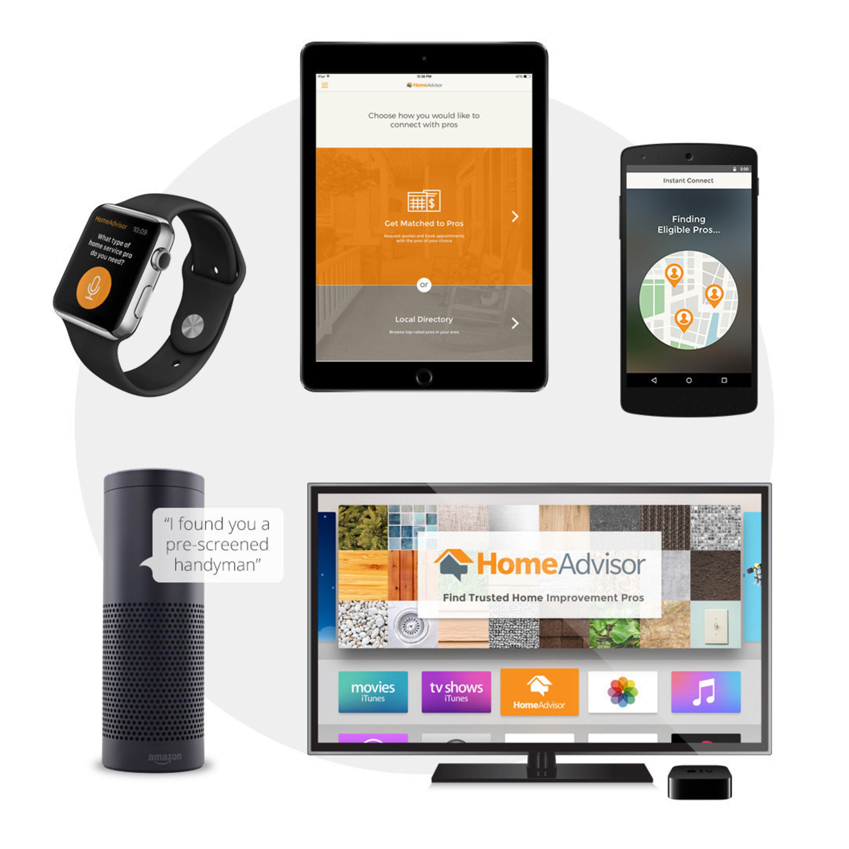 HomeAdvisor home automation integration