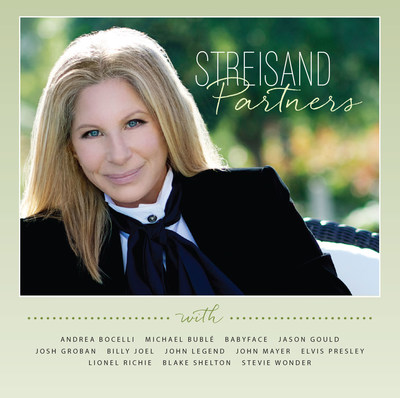 Barbra Streisand's 'Partners' Album To Be Released September 16th (PRNewsFoto/Columbia Records)