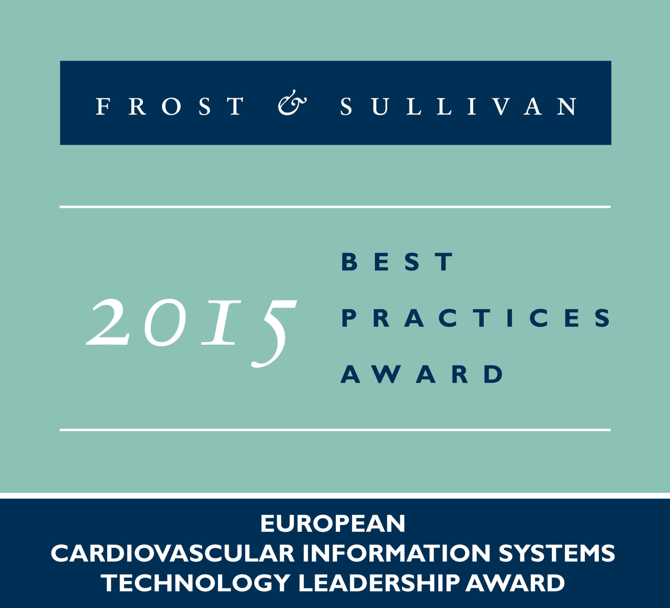 Frost & Sullivan Acclaims SUITESTENSA, the EBIT's Technically Advanced Cardiovascular Information