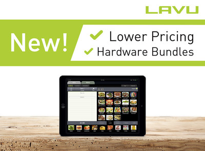 Lavu introduces new, lower pricing and affordable hardware bundles.