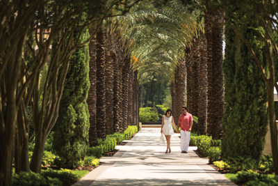 Stroll along the beautifully landscaped grounds.