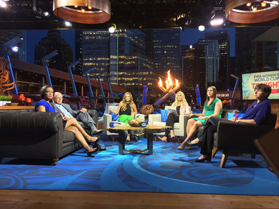 JHD Group - Women's World Cup FOX Broadcast Studio Interior Lounge Area
