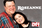 Roseanne, rated as one of the greatest shows of all time by TV Guide, will now be seen on the LAFF television network.  Visit LAFF.com for more information.