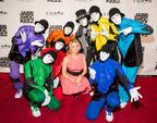 World famous dance crew Jabbawockeez opens new Las Vegas show at Luxor.  (PRNewsFoto/Jabbawockeez)