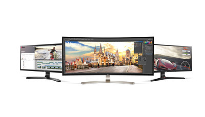 LG Electronics today announced three new 21:9 UltraWide monitors.