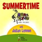 Summertime: Meninos do Morumbi Featuring Julian Lennon (PRNewsFoto/Music Is Hope Foundation)