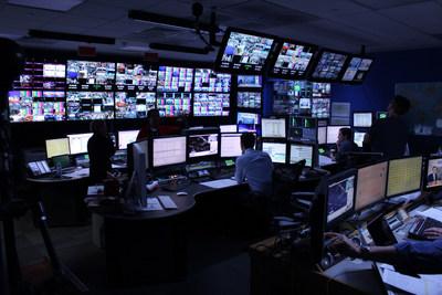 Sky News Election Night coverage with LiveU technology (PRNewsFoto/LiveU)
