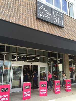 Grand opening of Saks OFF 5TH at PREIT's Springfield Town Center