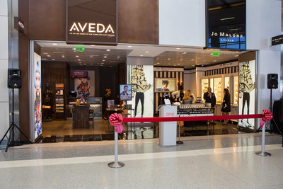 Aveda, Jo Malone London and MŸAŸC Cosmetics are bringing new luxury beauty options to customers traveling through International Terminal D at Dallas Fort Worth International (DFW) Airport.