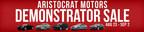 Take advantage of deep discounts on select premium vehicles now at Aristocrat Motors (PRNewsFoto/Aristocrat Motors)