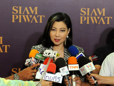 Mrs. Chadatip Chutrakul, Chief Executive Officer of Siam Piwat Co., Ltd. (PRNewsFoto/Siam Piwat Co., Ltd.)