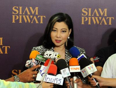 Mrs. Chadatip Chutrakul, Chief Executive Officer of Siam Piwat Co., Ltd. (PRNewsFoto/Siam Piwat Co., Ltd.)