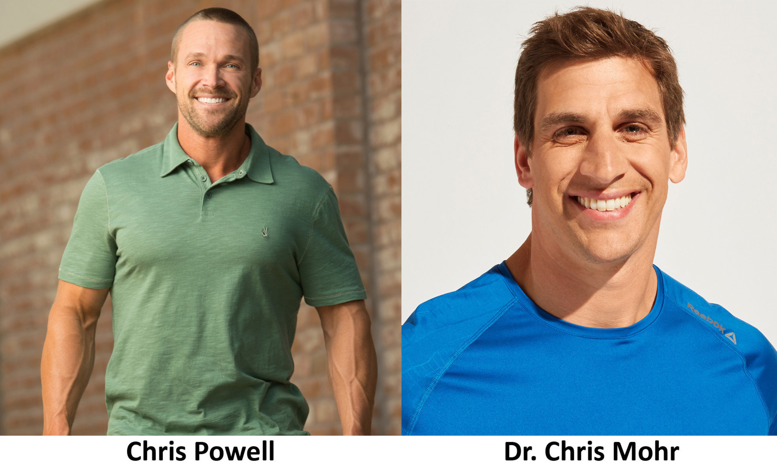 Chris Powell & Dr. Chris Mohr Team Up To Help Men Reach Six Pack Success with Almonds