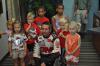 HENRY SCHEIN GREG BIFFLE Nascar star Greg Biffle, will take the important oral health message to Richmond International Raceway during the NASCAR weekend April 27-28 for a special Give Kids A Smile dental health screening and education event.  (PRNewsFoto/Henry Schein, Inc.) ST. PAUL, MN UNITED STATES