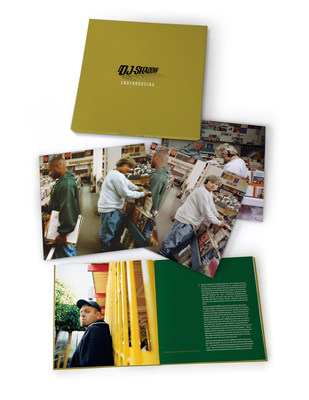 """DJ Shadow's landmark debut, """"Endtroducing,"""" will be celebrated with a 20th anniversary """"Endtrospective Edition"""" on October 28. The 6 LP/ 3 CD special deluxe will include the original album,  a collection of demos, alternate takes and live versions titled Excessive Ephemera, and Endtroducing Re-Imagined, featuring 12 specially commissioned remixes from some of contemporary electronic music's leading lights including Hudson Mohawke, Clams Casino, Salva, Prince Paul, Bondax & Karma Kid and more."""