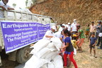 Aid delivery to Sindhupalchok