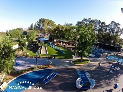 Palo Alto's Magical Bridge Playground
