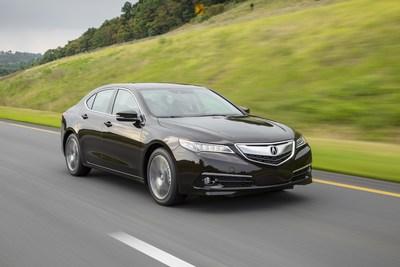 Acura TLX Luxury Sport Sedan Speeds Into the 2017 Model Year
