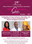 AWCAA 10th Anniversary Gala | October 18, 2014 (PRNewsFoto/AWCAA)