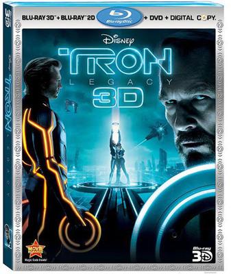 Disney TRON: Legacy Hits The Grid - Tuesday, April 5th