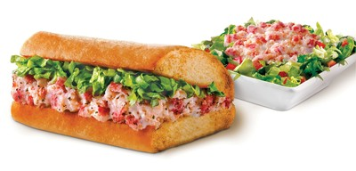 In a sea of fish sticks and fillets, Quiznos stands out with its limited-time fresh and premium lobster offerings, catering to guests searching for a high-quality, meatless meal.