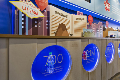 Republic Services & The Mirage New Sustainability Discovery Center Recycling Exhibit