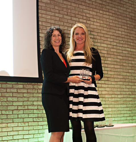 Direct Marketing News Editor-in-Chief Ginger Conlon presents Ashley Johnston of Experian Marketing Services ...