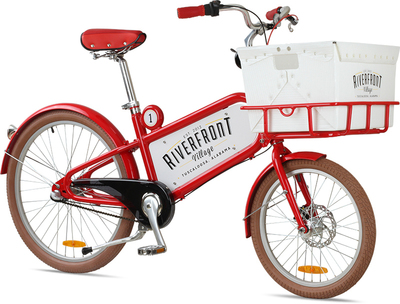 An example of the Republic bikes that will be offered as part of Chance Partners' bike share program at Riverfront Village in Tuscaloosa, AL.  (PRNewsFoto/Chance Partners)