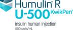 Humulin(R) R U-500 KwikPen(R)