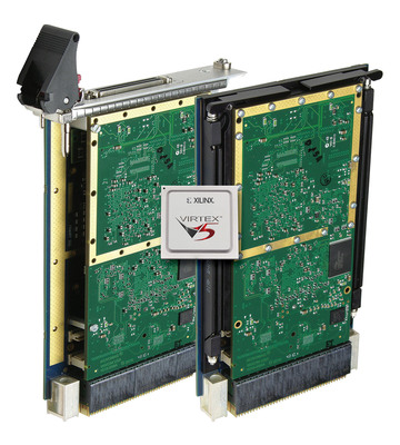 Acromag's new VPX Boards pair configurable Virtex-5 FPGA with PCI Express Interface.  (PRNewsFoto/Acromag)