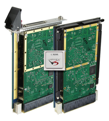 New VPX Boards Pair Configurable Virtex-5 FPGA With PCIe Interface for High-Performance Computing